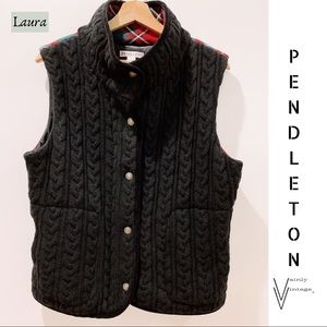 Pendleton Wool Tartan Vest